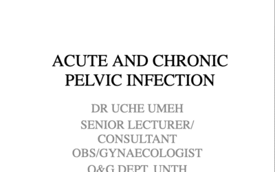 Acute and Chronic Pelvic Infection
