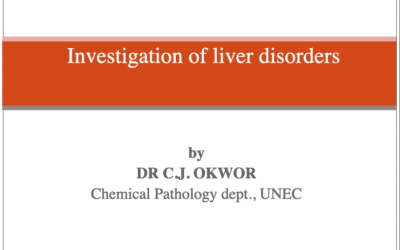 Investigation of liver disorders