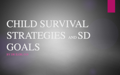 CHILD SURVIVAL STRATEGIES