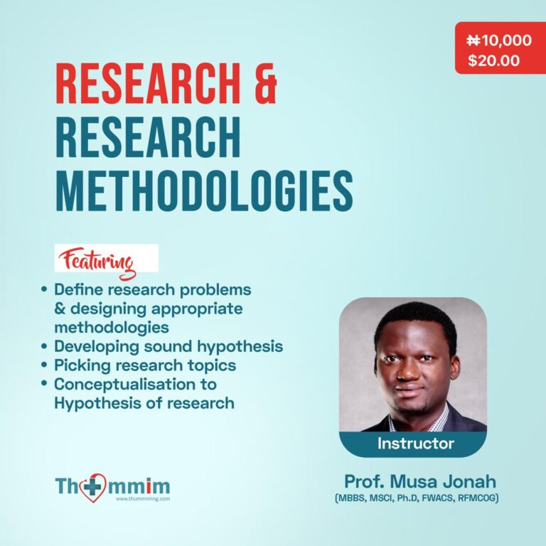 Research & Research Methodologies