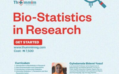 Biostatistics in Research