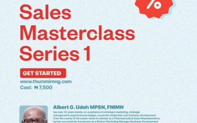 SALES MASTERCLASS -SERIES 1