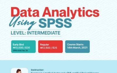 DATA ANALYTICS USING SPSS- INTERMEDIATE LEVEL