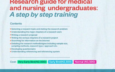 Research Guide for Medical and Nursing Undergraduates: A Step by Step Training
