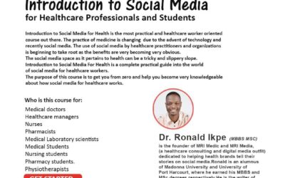Introduction to Social Media for Healthcare Professionals and Students