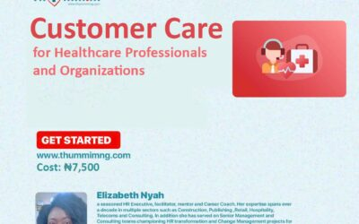 Customer Care For Healthcare Professionals and Organizations